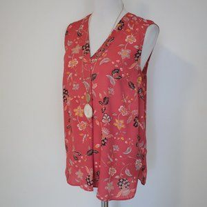 ADRIANNA PAPELL Large Blouse Salmon Pink